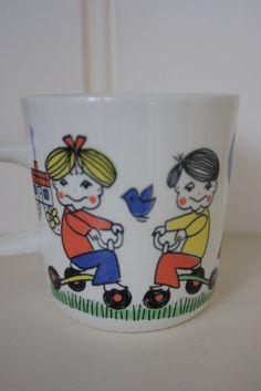 Figgjo Norway Trygg Trafikk mug