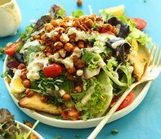 Chickpea Shawarma Salad