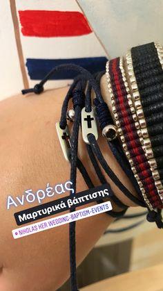Μαρτυρικά βάπτισης βραχιολάκια  #nikolasker #martyrika #vaptisi #Greece #athens #greekevents #μαρτυρικαβάπτισης #neaionia #boy #girl #christening #baptism #nonos #nona #vaftisi #βάπτιση Friendship Bracelets, Jewelry, Fashion, Moda, Jewlery, Jewerly, Fashion Styles, Schmuck, Jewels