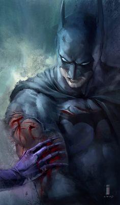 Batman by Ivan Tao