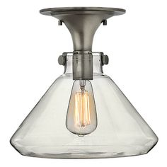 Howells 1-Light Semi Flush Mount #birchlane