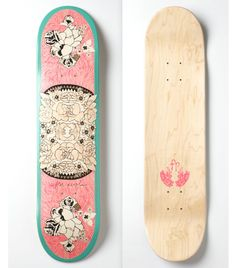 Poppytalk - The beautiful, the decayed and the handmade: Free People Limited Edition Skateboards