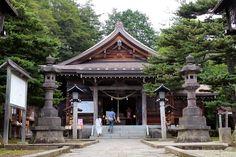 那須高原『温泉神社』さざれ石 平家物語 那須与一