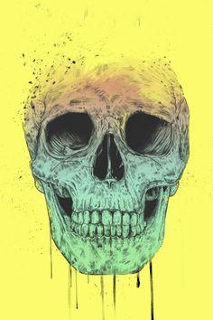 Poster - Pop Art Skull