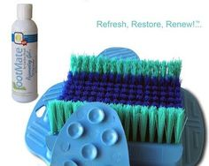 There's nothing more refreshing than using the The FootMate® System after a good work out! www.footmate.com