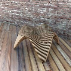 Plywood Furniture, Unique Furniture, Furniture Design, Plywood Art, Furniture Dolly, French Furniture, Furniture Stores, Room Partition Wall, Adirondack Chairs For Sale
