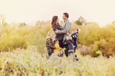 Family pose.