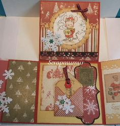 Whiff of Joy - Tutorials & Inspiration: Folding map of Christmas with Murielle