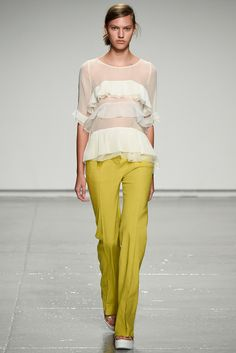 Rebecca Taylor Spring 2015 Ready-to-Wear