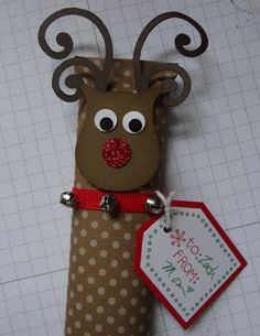 DIY~Rudolf candy bar wrap