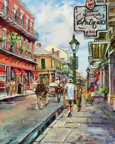 French Quarter Antiques ~ by Dianne Parks