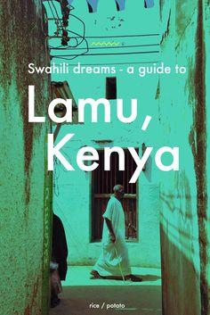 Swahili dreams: A guide to the wonderful island of Lamu, Kenya.