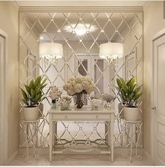 283 best mirrored walls images home interior design on mirror wall id=87496