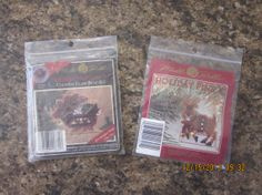 Mill Hill Counted Glass Bead Reindeer Kits - CHARTS ONLY - Jingle Rudy OR Reindeer Sleigh by WhimseysByAnne, $5.00