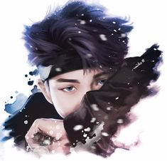 rm nottoday art<--- I almost died when I saw Namjoon's look in this mv!!!