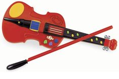 Toy Violin with Bow from One Step Ahead | 2W713285
