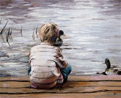 Kai Fine Art is an art website, shows painting and illustration works all over the world. Acrylic Painting For Kids, Baby Painting, Figure Painting, Baby Art, People Art, Beautiful Paintings, Watercolor Paintings, Watercolors, Art For Kids