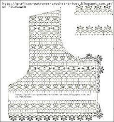 Crochet ideas that you'll love Gilet Crochet, Crochet Collar, Crochet Cardigan Pattern, Crochet Jacket, Freeform Crochet, Crochet Diagram, Crochet Blouse, Crochet Chart, Crochet Stitches