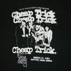 Cheap Trick Vintage T-Shirt https://www.facebook.com/FromTheWaybackMachine
