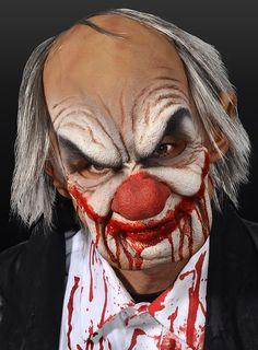 Cannibal Clown Latex Full Mask #halloween