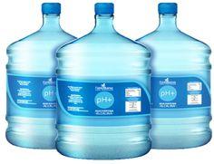 3 Garrafones de Agua Alcalina con envase