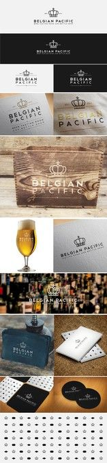 Create a stylish logo for a Belgian Beer Tasting room and bottle shop by Updes™
