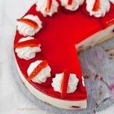 Sernik na zimno na serkach homogenizowanych (lub jogurcie)