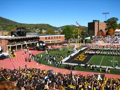 Appalachian State University  football..