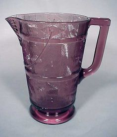Ivy in Snow Water Pitcher