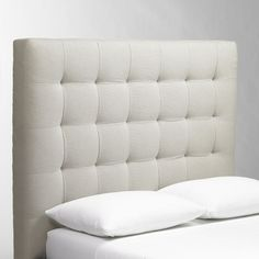 Shop grid tufted headboard from west elm. Find a wide selection of furniture and decor options that will suit your tastes, including a variety of grid tufted headboard. Diy Tufted Headboard, Headboard Cover, Modern Headboard, Headboard Designs, Upholstered Beds, Headboards For Beds, Quilted Headboard, Fabric Headboards, Headboard Ideas
