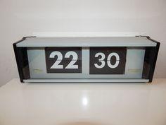 Vintage PRAGOTRON IPJ 0612 Metal Industrial Electrical Digital Clock