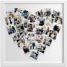 Heart Photo Collage-Minted
