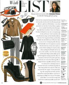 Harper's Bazaar / April 2013
