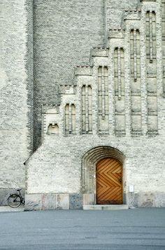 Grundtvig's Church. Photo by Sophia Austrins.