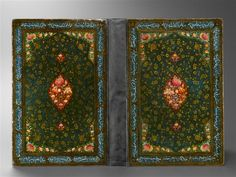booksnbuildings:  Three bookbindings from Iran +