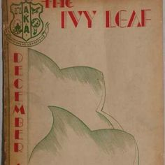 1934 Ivy Leaf