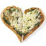 Two-Cheese Pesto Pizza; easy to make with the kiddos