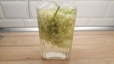Elderflower, Glass Vase, Ice Cream, Tea, Drinks, Food, Smoothie, Decor, No Churn Ice Cream