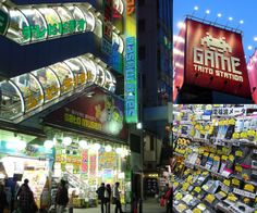 If you love gadgets, gaming, or anime, the Akihabara District of Tokyo