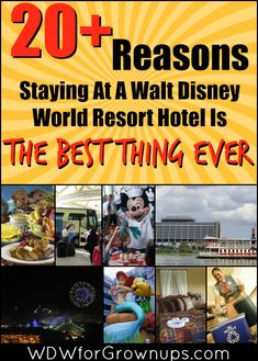 20+ Reasons To Stay On Property at a Walt Disney World Resort