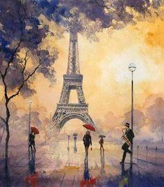 Forever paris art