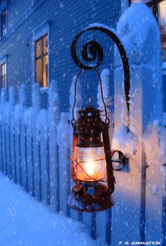 Lantern in the snow ~A collection of CLICK ON THE PICTURE (gif) AN WATCH IT COME TO LIFE. ....♡♥♡♥♡♥Love★it