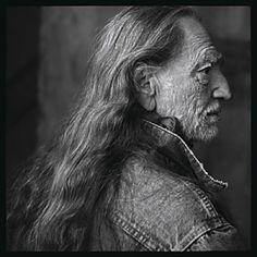 "Annie Leibovitz Willie Nelson, Lusk Ranch, Texas, by Annie Leibovitz. Photo included in Leibovitz' ""American Music"" collection."