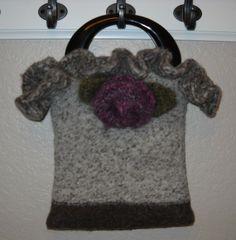Pdf Felted Knit Purse Pattern Only by trimitup on Etsy, $4.95