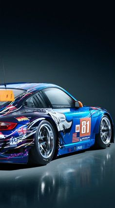 2011 Flying Lizard No. 81 Porsche 911 GT3 RSR
