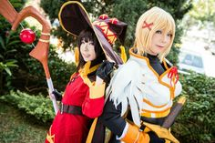 Konosuba Megumin and Darkness Cosplay
