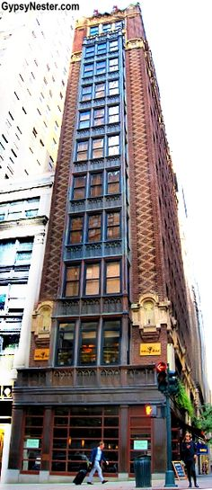 """The NYC """"sliver building"""" - it's 25 feet by 100 feet on Madison Avenue in Manhattan."""