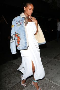 Rihanna Amps Up Matching Separates