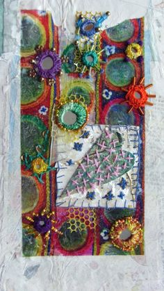 Shisha are beautiful mirrors for embroidery that add incredible enhancements to your creations. They are great for hand stitching and textile art.   Go to http://www.colouricious.com for more inspiration