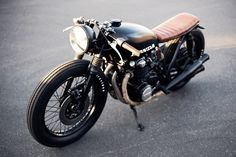Honda cb550 A Seaweed & Gravel custom job
